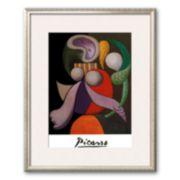 """Art.com """"Femme a La Fleur, c.1932"""" Framed Art Print by Pablo Picasso"""