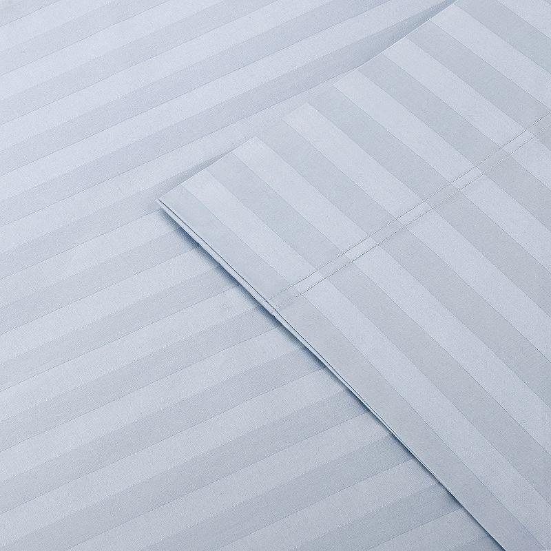 Premier Comfort Damask Stripe 500-Thread Count Egyptian Cotton Sheet Set - King