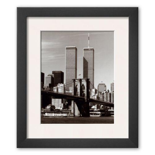 Art.com World Trade Center and Brooklyn Bridge Framed Art Print By Water Gritsik