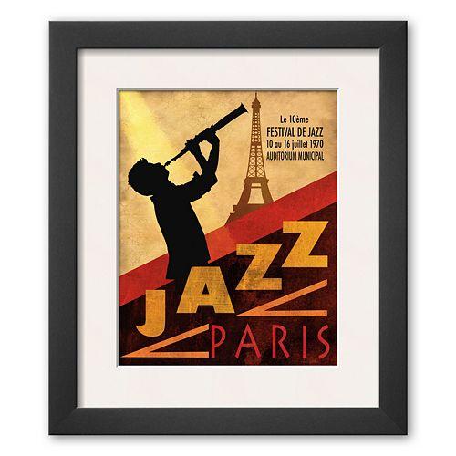 Art.com Jazz in Paris, 1970 Framed Art Print By Conrad Knutsen