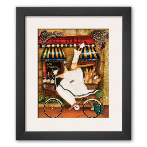 Art.com Chef in Paris Framed Art Print By Jennifer Garant