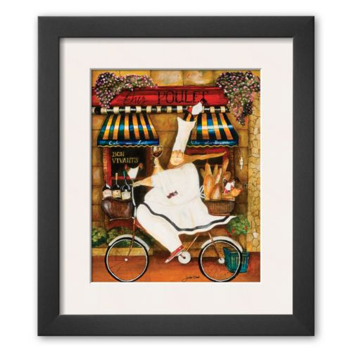 Art.com Chef in Paris Framed Art Print By Jennifer Garant