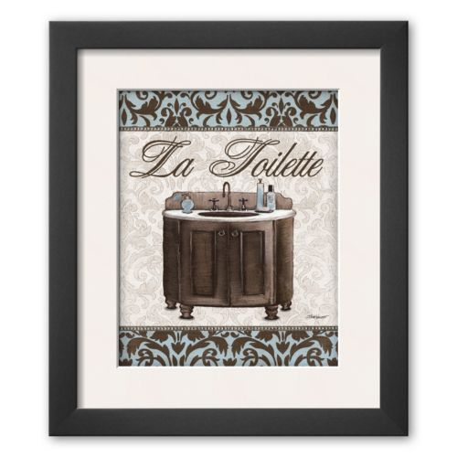 Art.com Modern Sink Framed Art Print By Todd Williams