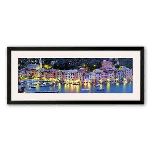 Art.com Portofino - Italy Framed Art Print by John Lawrence