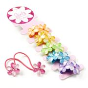 Fantasia 6-pk. Floral Knocker Ponytail Holders - Girls