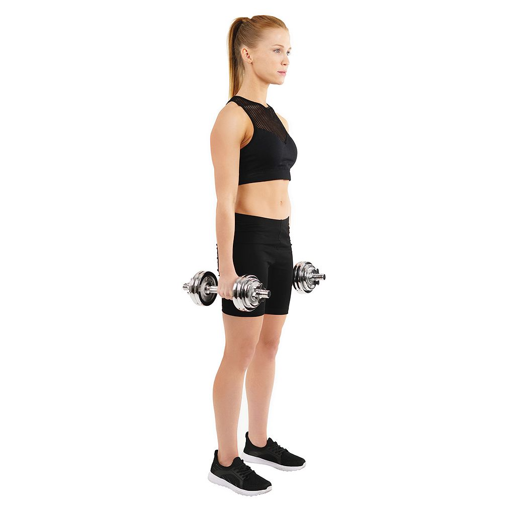 Sunny Health and Fitness 14-pc. Dumbbell Set