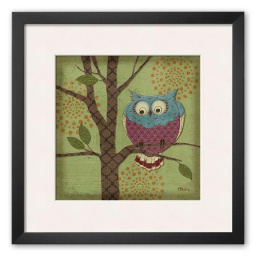 Art.com Fantasy Owls III Frame...