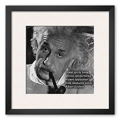 Art.com 'Albert Einstein' Framed Art Print