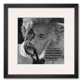 Art.com Albert Einstein Framed Art Print