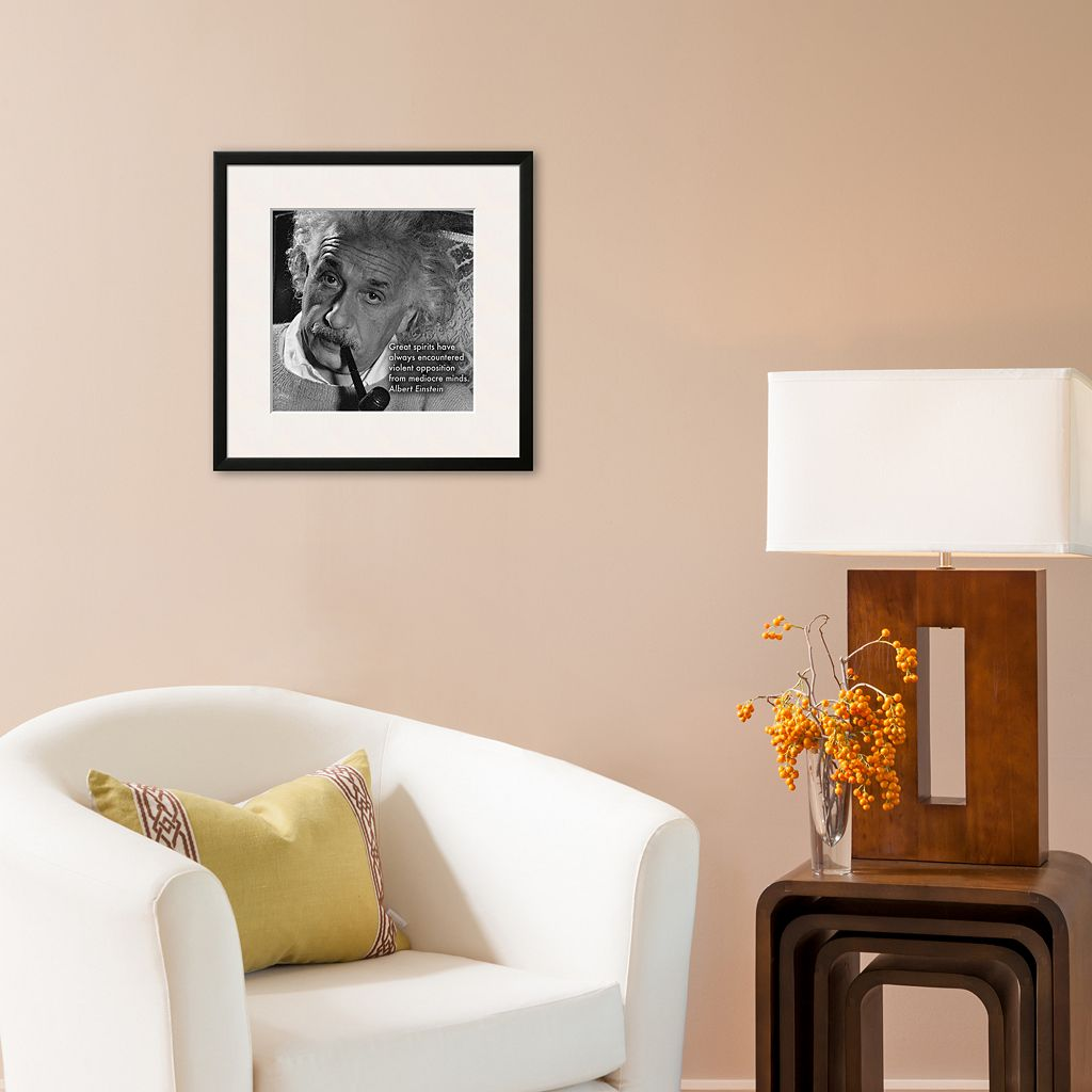 Art.com Albert Einstein Framed Art Print