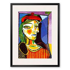 Art.com 'Girl with Red Beret' Framed Art Print by Pablo Picasso