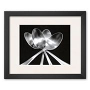 Art.com Spoons Framed Art Print by Mike Feeley