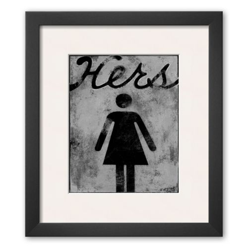 Art.com Hers Framed Art Print ...