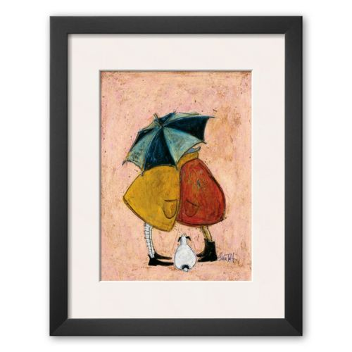 Art.com A Sneaky One Framed Art Print By Sam Toft