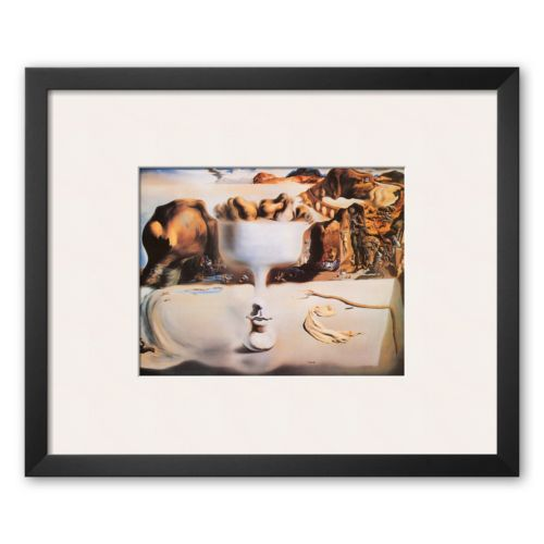 Art.com Fruit Dish Framed Art Print by Salvador Dalí