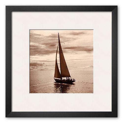 "Art.com ""Sailing V"" Framed Art Print"