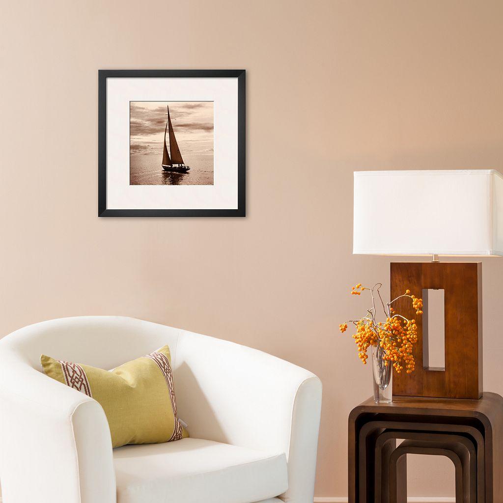 Art.com Sailing V Framed Art Print