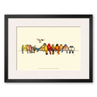 Art.com Bird Menagerie I Framed Art Print by Wendy Russell