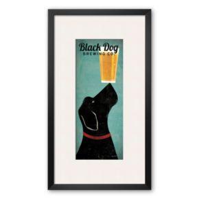 Art.com Black Dog Brewing Co. Framed Art Print by Ryan Fowler