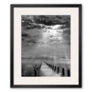 """Art.com """"Storm Clearing"""" Framed Art Print by Ellen Fisch"""
