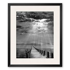 Art.com 'Storm Clearing' Framed Art Print by Ellen Fisch