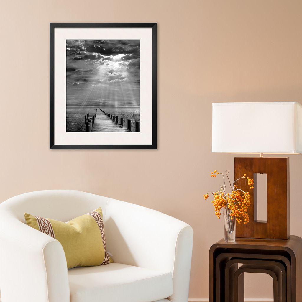 Art.com Storm Clearing Framed Art Print by Ellen Fisch