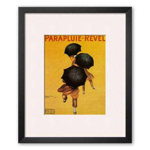 Art.com Parapluie Revel Framed Art Print by Leonetto Cappiello