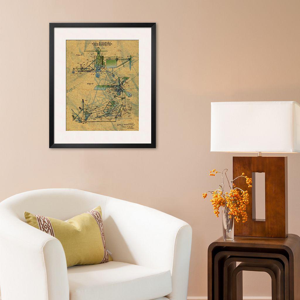 Art.com The Helicopter Framed Art Print