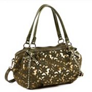 Nicole Lee Avelina Floral Contrast Convertible Shoulder Bag