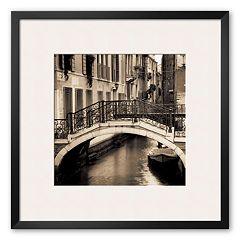 Art.com 'Ponti di Venezia I' Framed Art Print by Alan Blaustein