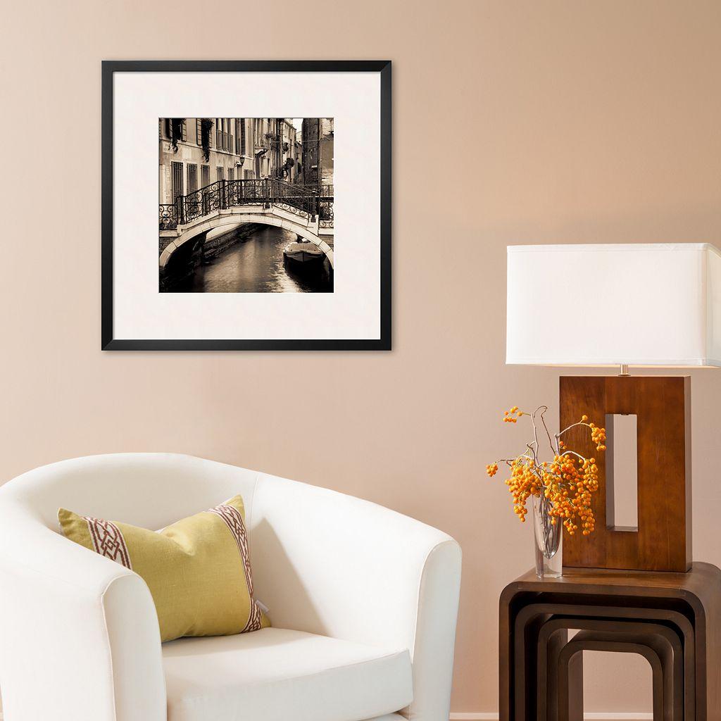 Art.com Ponti di Venezia I Framed Art Print by Alan Blaustein