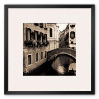 Art.com Ponti di Venezia II Framed Art Print by Alan Blaustein