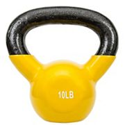Sunny Health and Fitness Vinyl-Coated 10-lb. Kettlebell Weight
