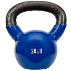 Sunny Health & Fitness Vinyl-Coated 20-Pound Kettlebell Weight (No. 066.  sale