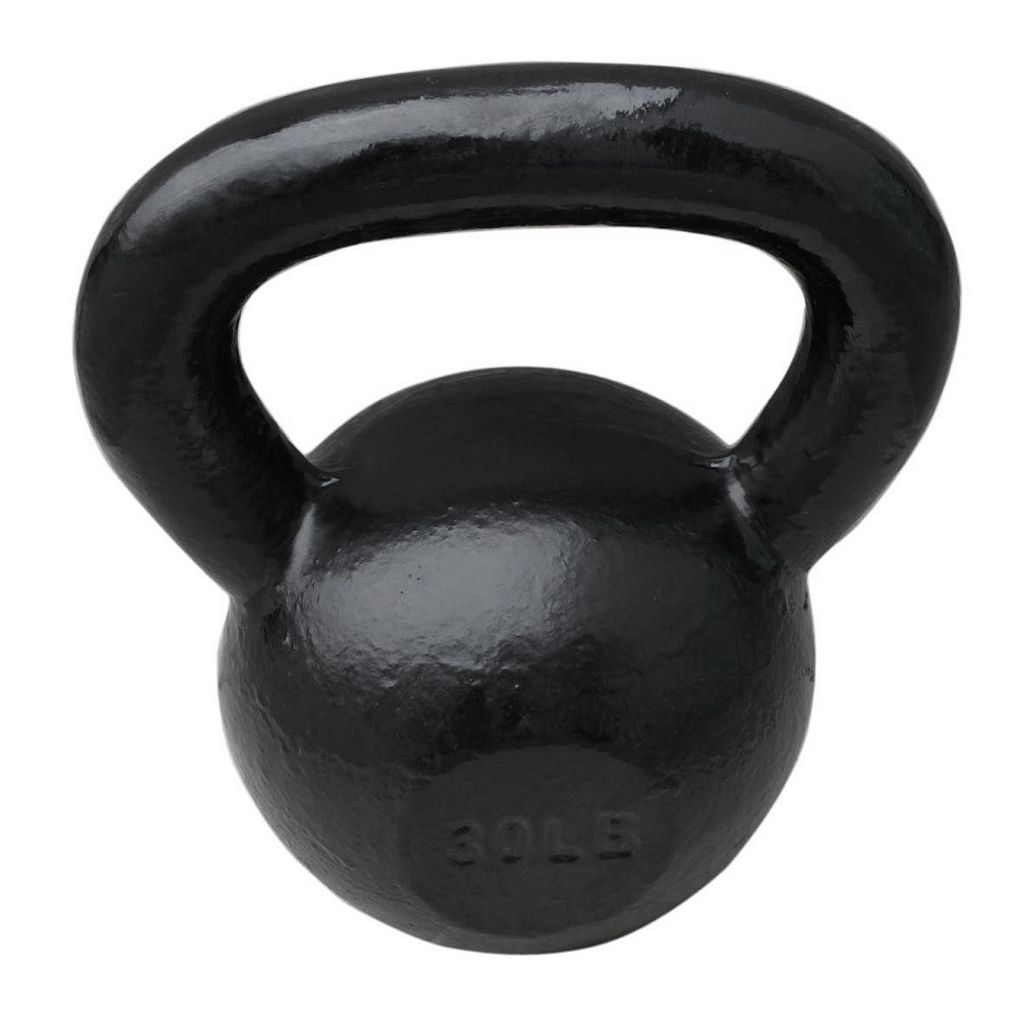 Sunny Health & Fitness 30-Pound Kettlebell Weight (No. 067-30)