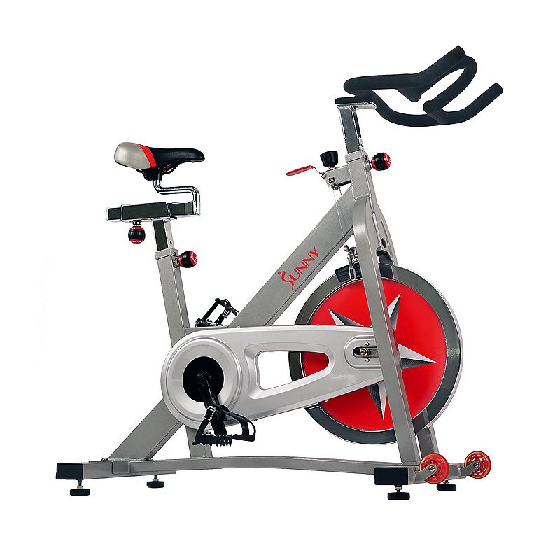 Sunny Health & Fitness Pro Indoor Cycling Bike (SF-B901), Grey