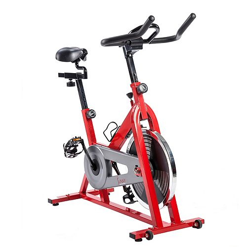 Sunny Health & Fitness Red Indoor Cycling Bike (SF-B1001)