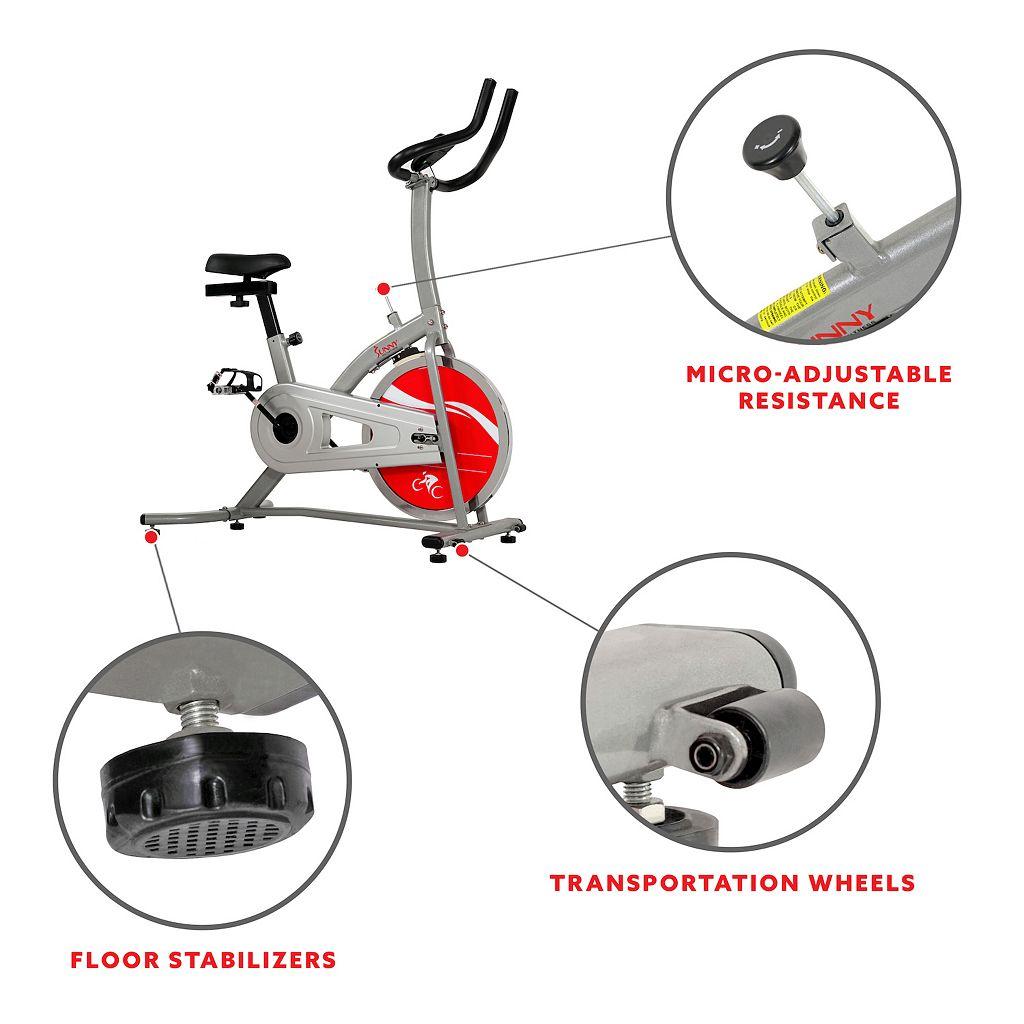 Sunny Health & Fitness Indoor Cycling Bike (SF-B1203)