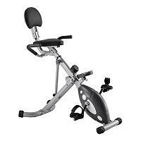 Sunny Health & Fitness Folding Recumbent Bike