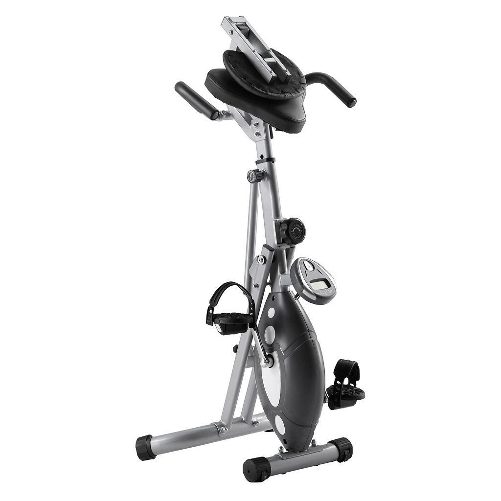 Sunny Health and Fitness Folding Recumbent Bike