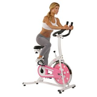 Sunny Health & Fitness Pink Indoor Cycling Bike (P8100)