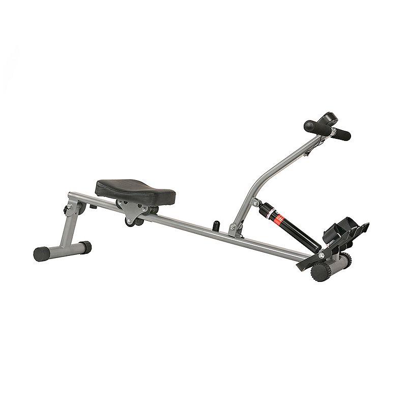 Sunny Health & Fitness Rowing Machine, Grey