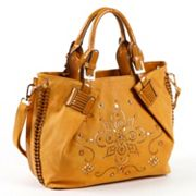 Nicole Lee Kiana Laser-Cut Flower Mandala Shopper