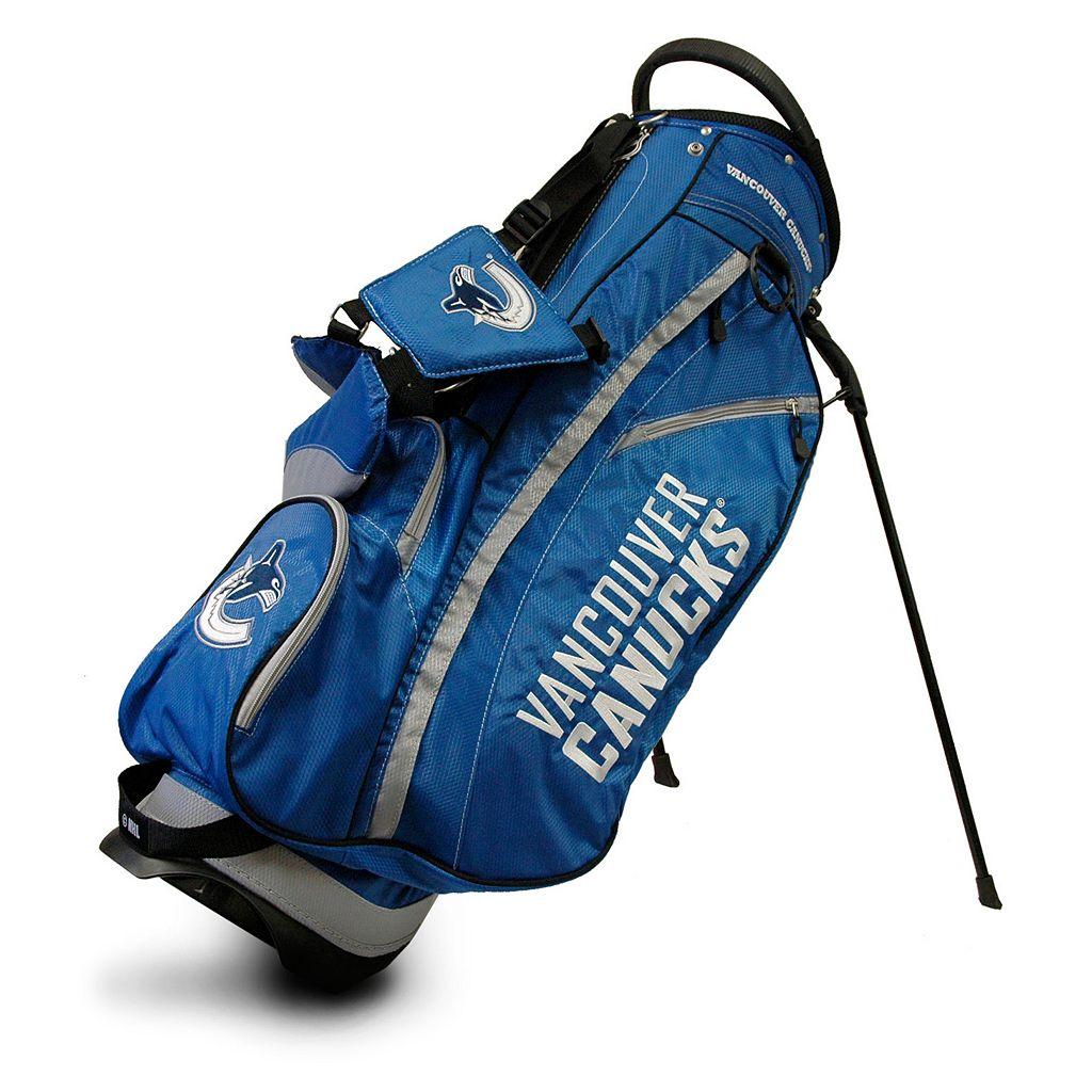 Team Golf Vancouver Canucks Fairway Stand Bag