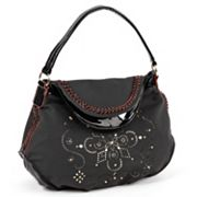 Nicole Lee Kiana Laser-Cut Flower Mandala Hobo