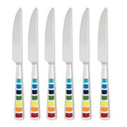 Fiesta Masquerade 6-pc. Steak Knife Set