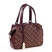 Nicole Lee Irene Quilt Boston Convertible Tote