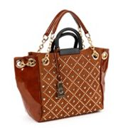 Nicole Lee Irene Studded Quilted Shopper