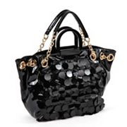Nicole Lee Jubilee Sequined and Scaled Shopper
