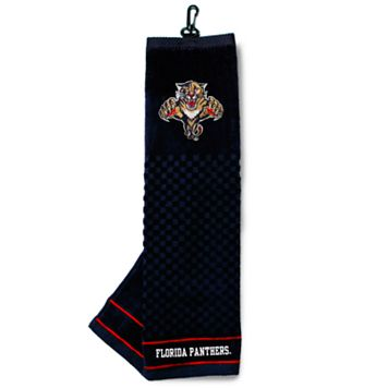Team Golf Florida Panthers Embroidered Towel